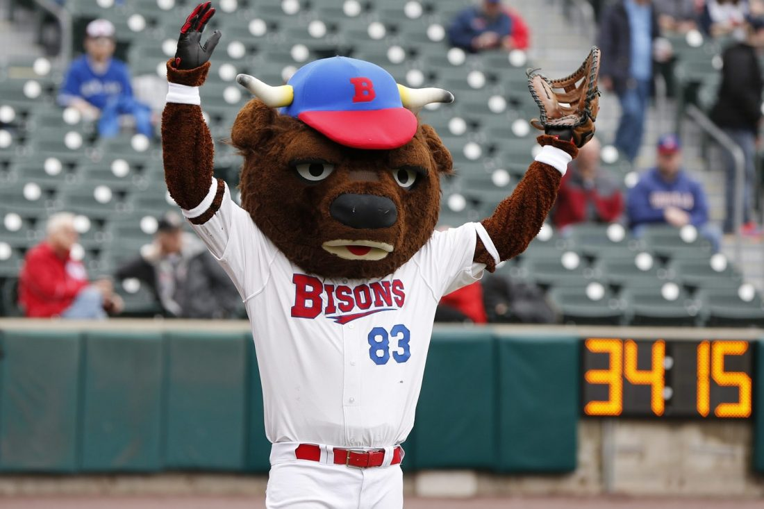 The Bisons will face Indianapolis in their home opener on Thursday. (Harry Scull Jr./The Buffalo News)