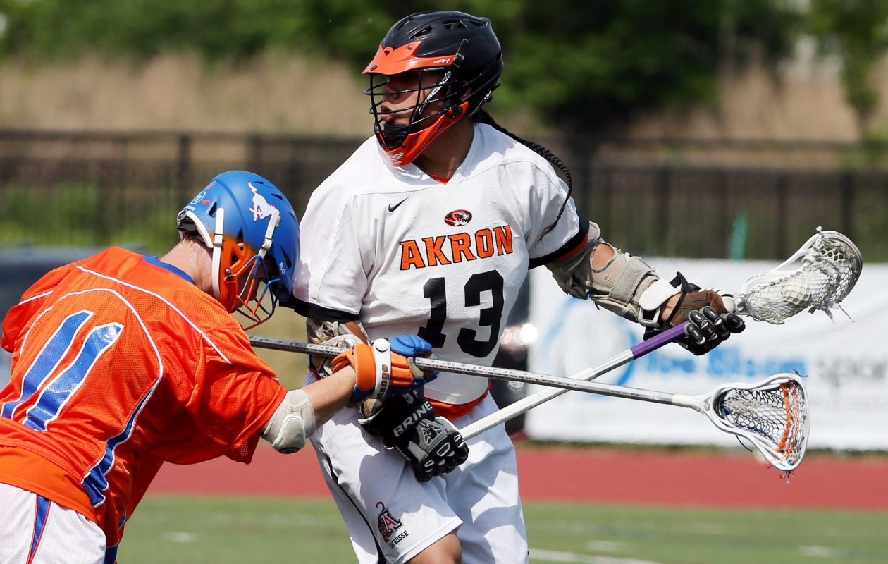 Akron's Owen Hill has scored 60 goals this season. (James P. McCoy/ Buffalo News file photo)