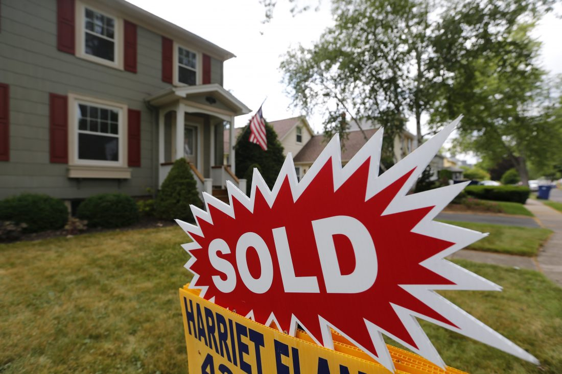 Local housing prices hit $160,000 for just the second month ever during September (Mark Mulville/Buffalo News file photo)