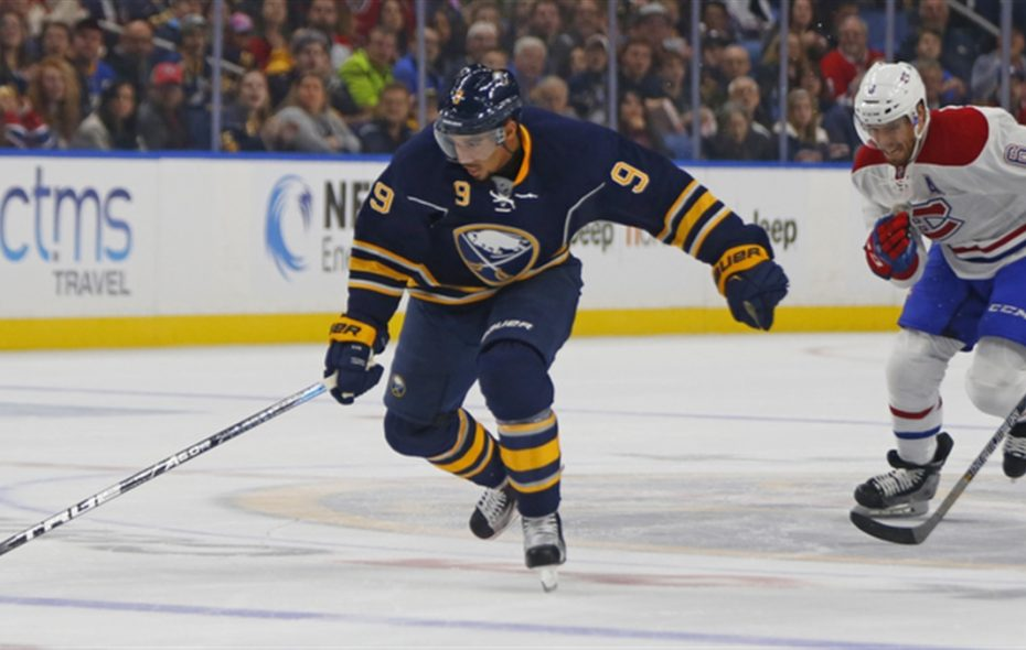 Evander Kane is the Sabres' most potent scorer. He's also most likely to be traded. (Harry Scull Jr./Buffalo News)