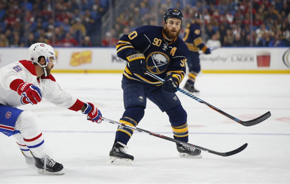 Ryan O'Reilly and the Sabres will quickly transition from training-camp practices to exhibition games. (Harry Scull Jr./Buffalo News file photo)