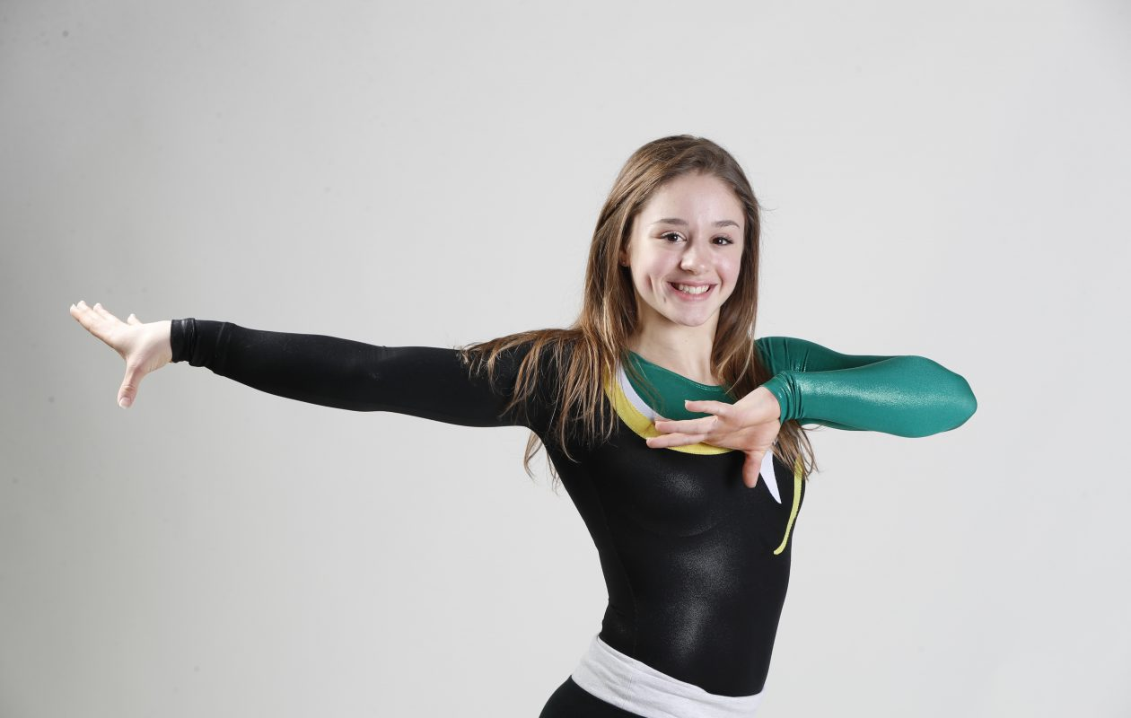 The Prep Talk Player of the Year for girls gymnastics is Williamsville North's Zoe Kyriakopoulos. (Harry Scull Jr./Buffalo News)