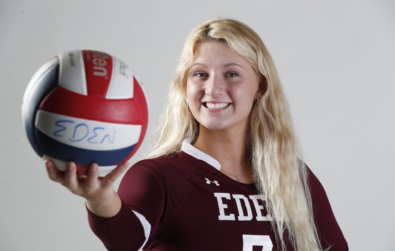 The Prep Talk Player of the Year for girls volleyball is Eden's Sam Burgio. (Harry Scull Jr./Buffalo News)