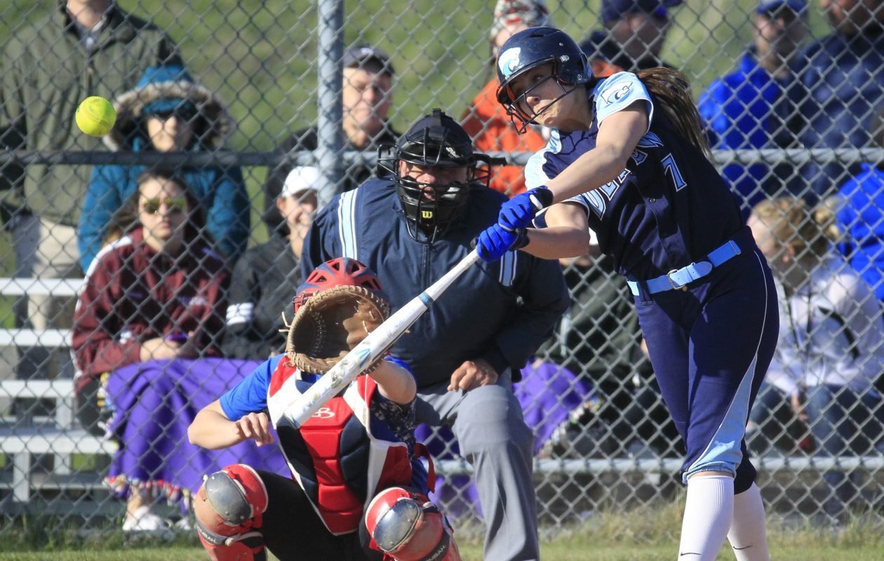 Depew senior Karsen Cotton was named the 2017 ECIC III Player and Pitcher of the Year. (Harry Scull Jr./Buffalo News)