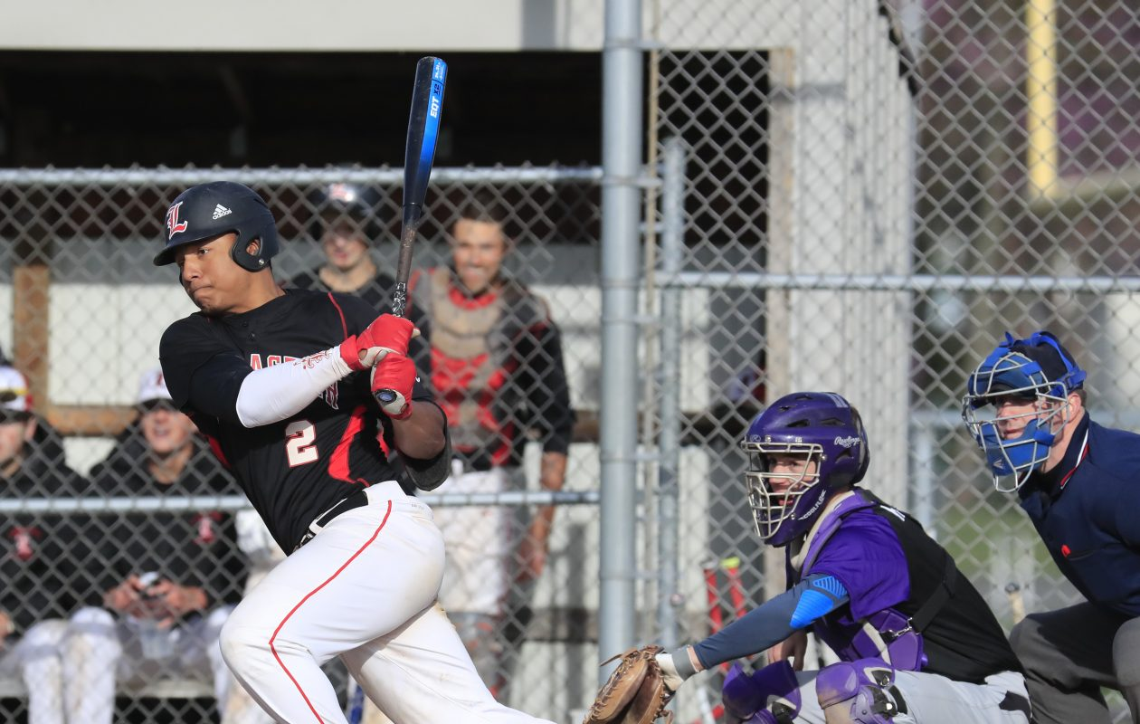 Lancaster's Leugim 'L.G.' Castillo hit .588 and belted nine home runs during the season. (Harry Scull Jr./Buffalo News)