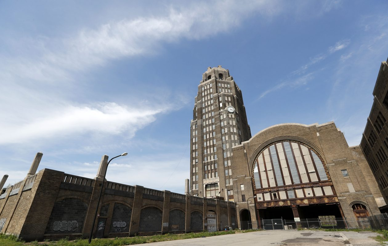 The Central Terminal in Buffalo, pictured Wednesday, May 17, 2017. (Mark Mulville/Buffalo News)