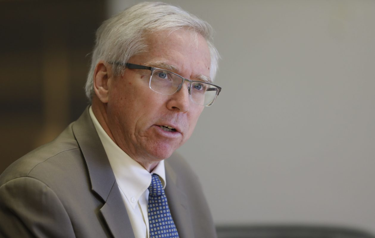 E.J. McMahon, research director of the Empire Center for Public Policy, recently helped author a report critical of the state's prevailing wage laws. (Derek Gee/Buffalo News)