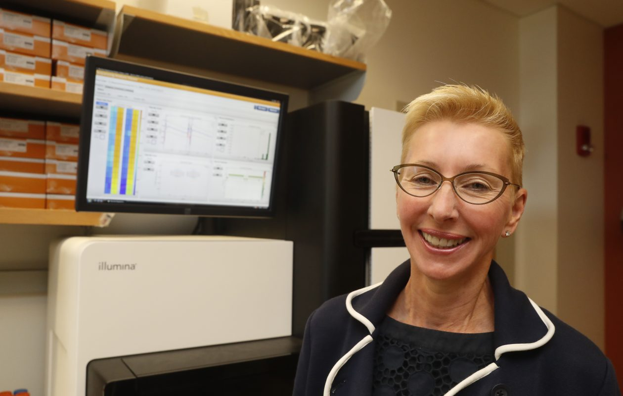 Norma J. Nowak was recognized by the Buffalo Niagara Partnership this spring with the 2017 Athena Award for her acclaimed research and as a leader in the human genomics field. (John Hickey/Buffalo News)