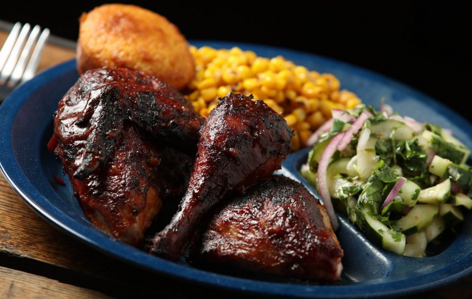 Dinosaur Bar-B-Que is known for its hickory-smoked meats. (Sharon Cantillon/Buffalo News)