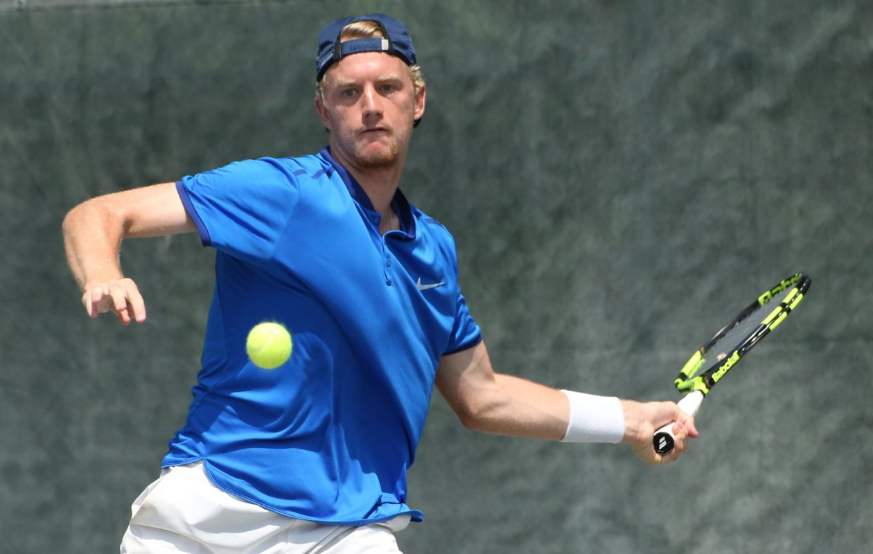 Alex Rybakov is the defending singles champion of the Sargant & Collins LLC Attorneys At Law Tournament at Miller Tennis Center. (Derek Gee/Buffalo News file photo)