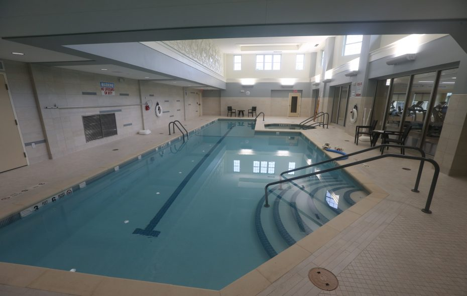 Canterbury Woods recently completed a renovation and expansion of its health and wellness facility at its main campus in Amherst. (John Hickey/Buffalo News)