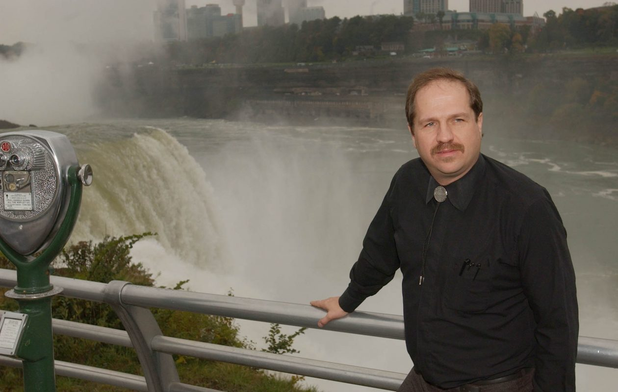 Kirk Jones in Niagara Falls State Park in 2013. (News file photo)