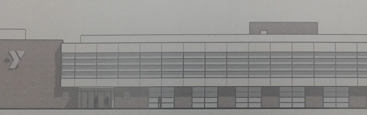Rendering of the new Lockport YMCA, submitted to the Town of Lockport Planning Board.