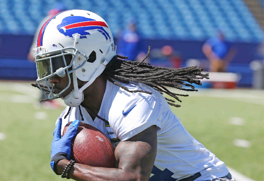 Bills wide receiver Sammy Watkins is entering the final year of his contract. (James P. McCoy/Buffalo News)