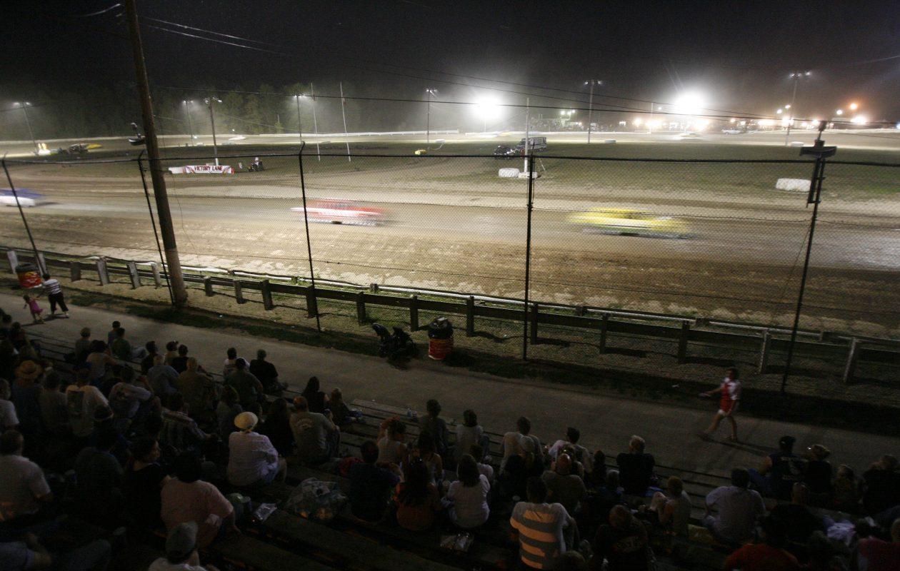Ransomville Speedway.  (Mark Mulville/Buffalo News file photo)