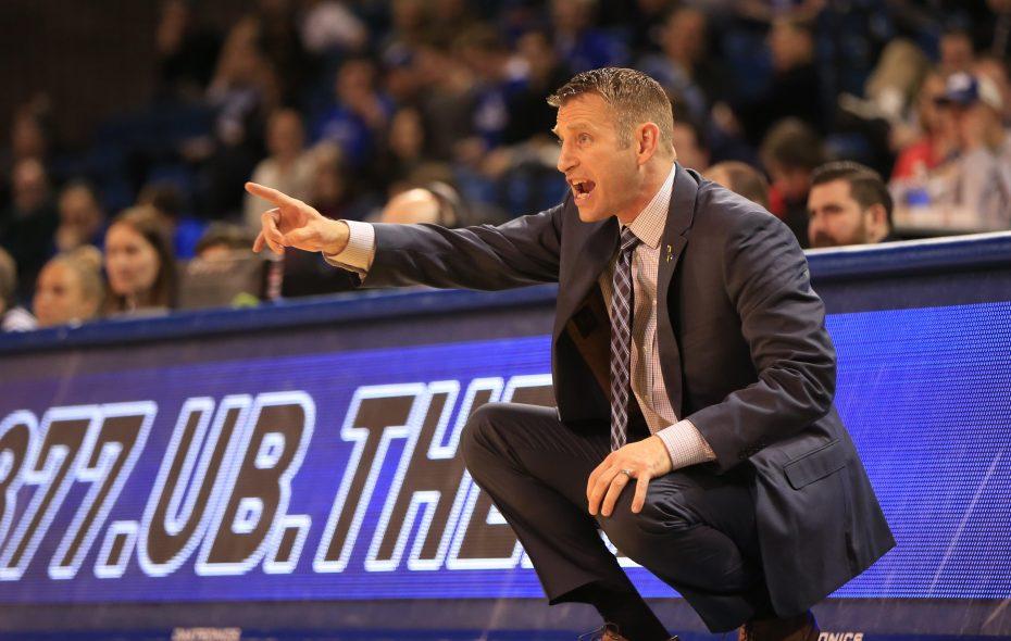 UB men's basketball coach Nate Oats. (Harry Scull Jr./News file photo)