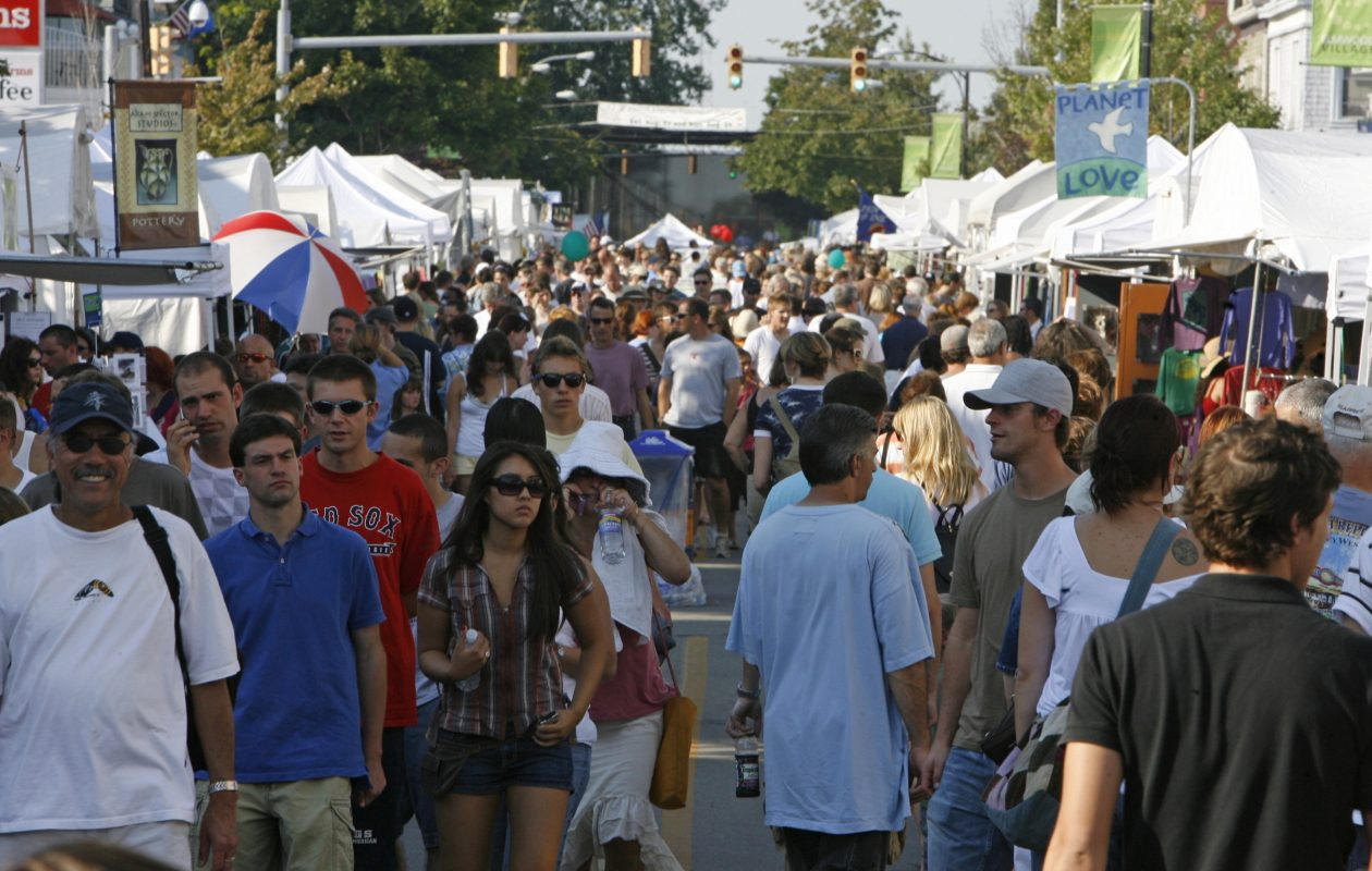 The Elmwood Avenue Festival of the Arts is one of Buffalo's major summer gatherings. (Derek Gee/Buffalo News file photo)