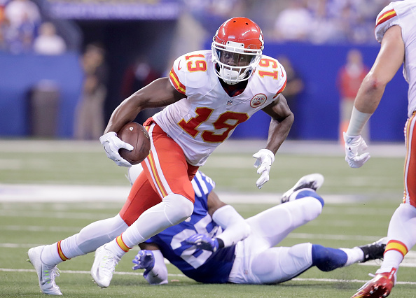 Former Chiefs wide receiver Jeremy Maclin reportedly signed a two-year contract with the Ravens. (Getty Images)