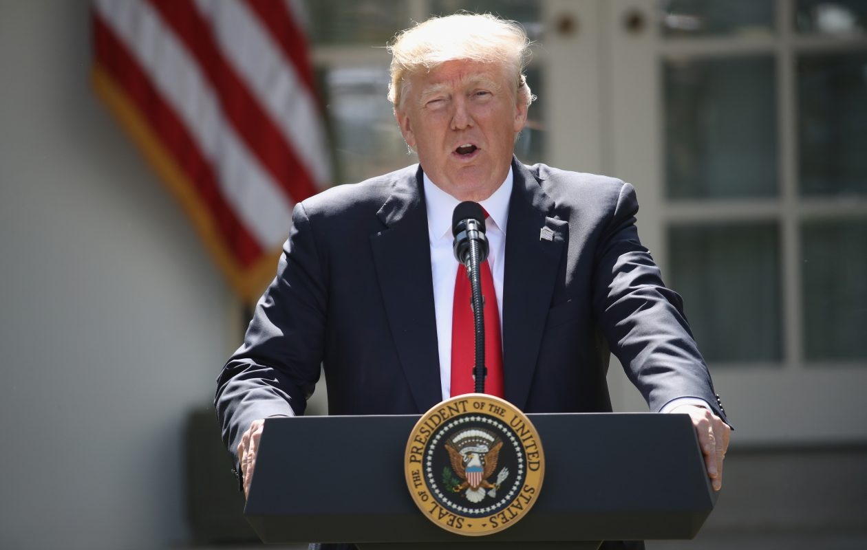 President Trump  issued an extraordinary challenge to his own party late Tuesday, threatening to shut down the government in a matter of weeks if Congress did not fund a wall on the southern border. (Getty Images)