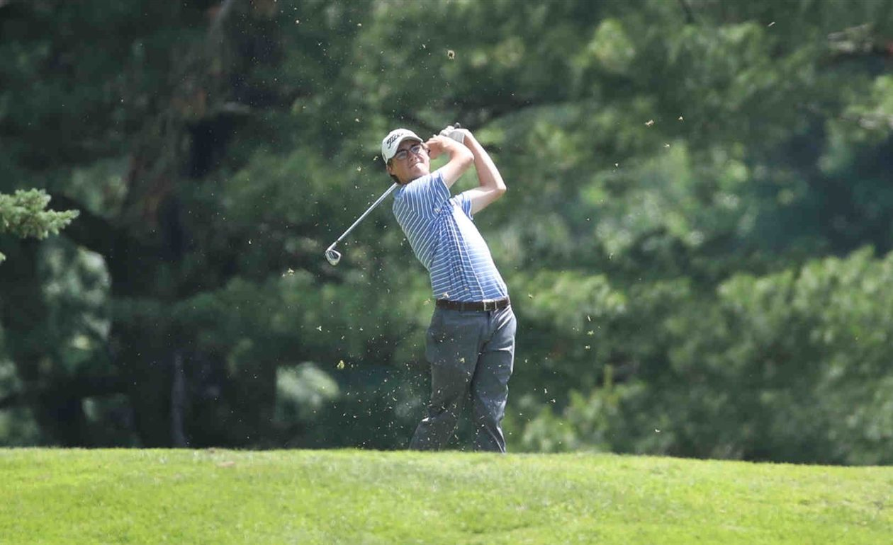 Rochester's Danny Gianinny is one of four with a shot at the International Junior Masters title. (James P. McCoy/The Buffalo News)