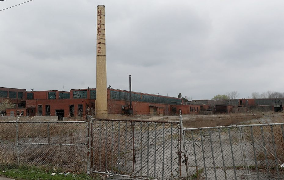 Buffalo Left Behind: Houdaille Industries building