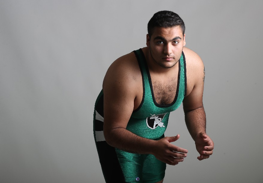 The Prep Talk Player of the Year for wrestling is Laith Alsous of Lew-Port.  (Photo by James P. McCoy / Buffalo News)