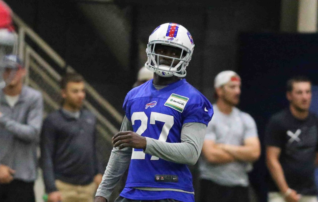 Bills cornerback Tre'Davious White had a successful spring with the team, and is looking to carry that over to training camp. (James P. McCoy/Buffalo News)