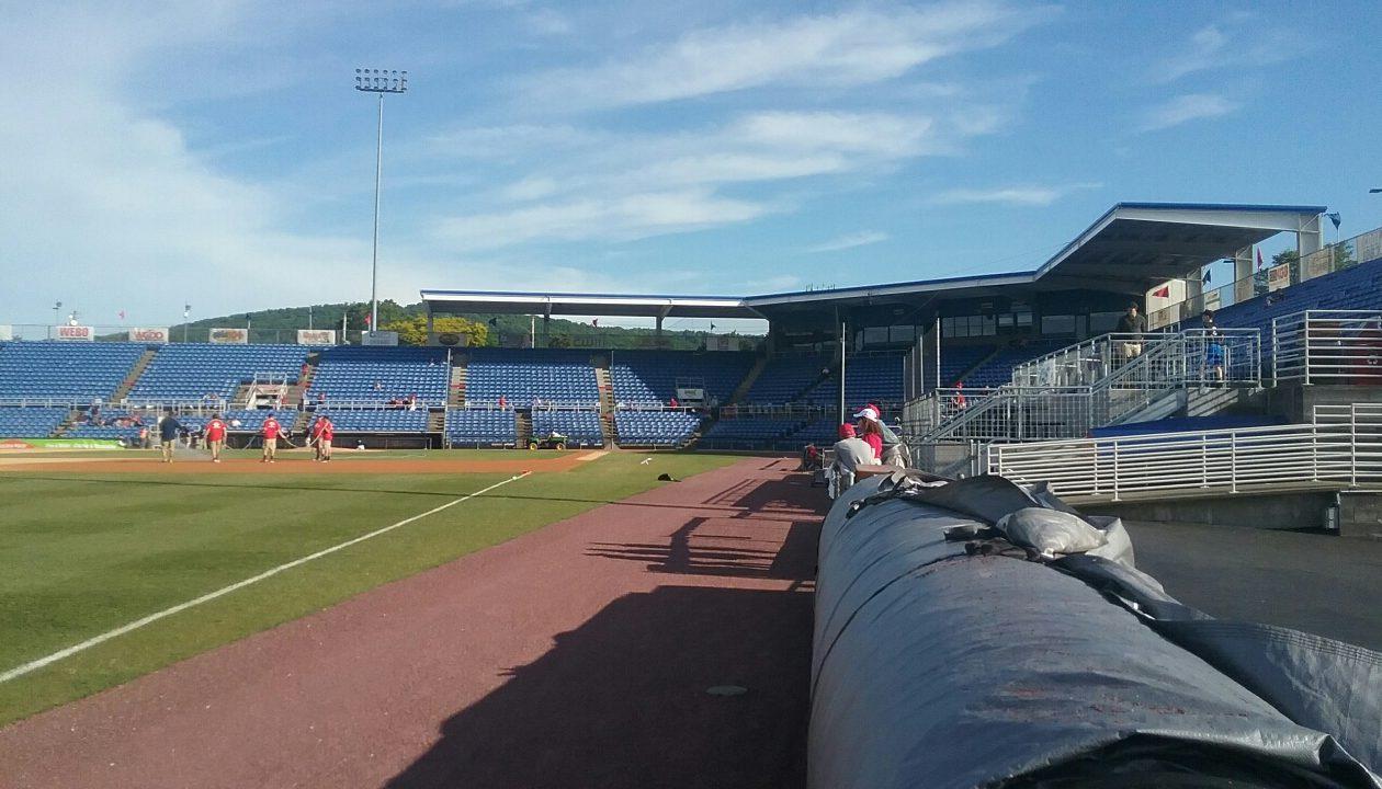 Hello from NYSEG Stadium in Binghamton.