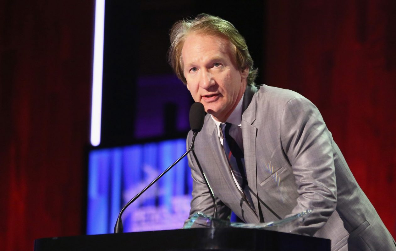 TV personality Bill Maher, here speaking at a 2015 event, learned a hard lesson in the use of a racial epithet.  (Todd Williamson/UPPA/Zuma Press/TNS)