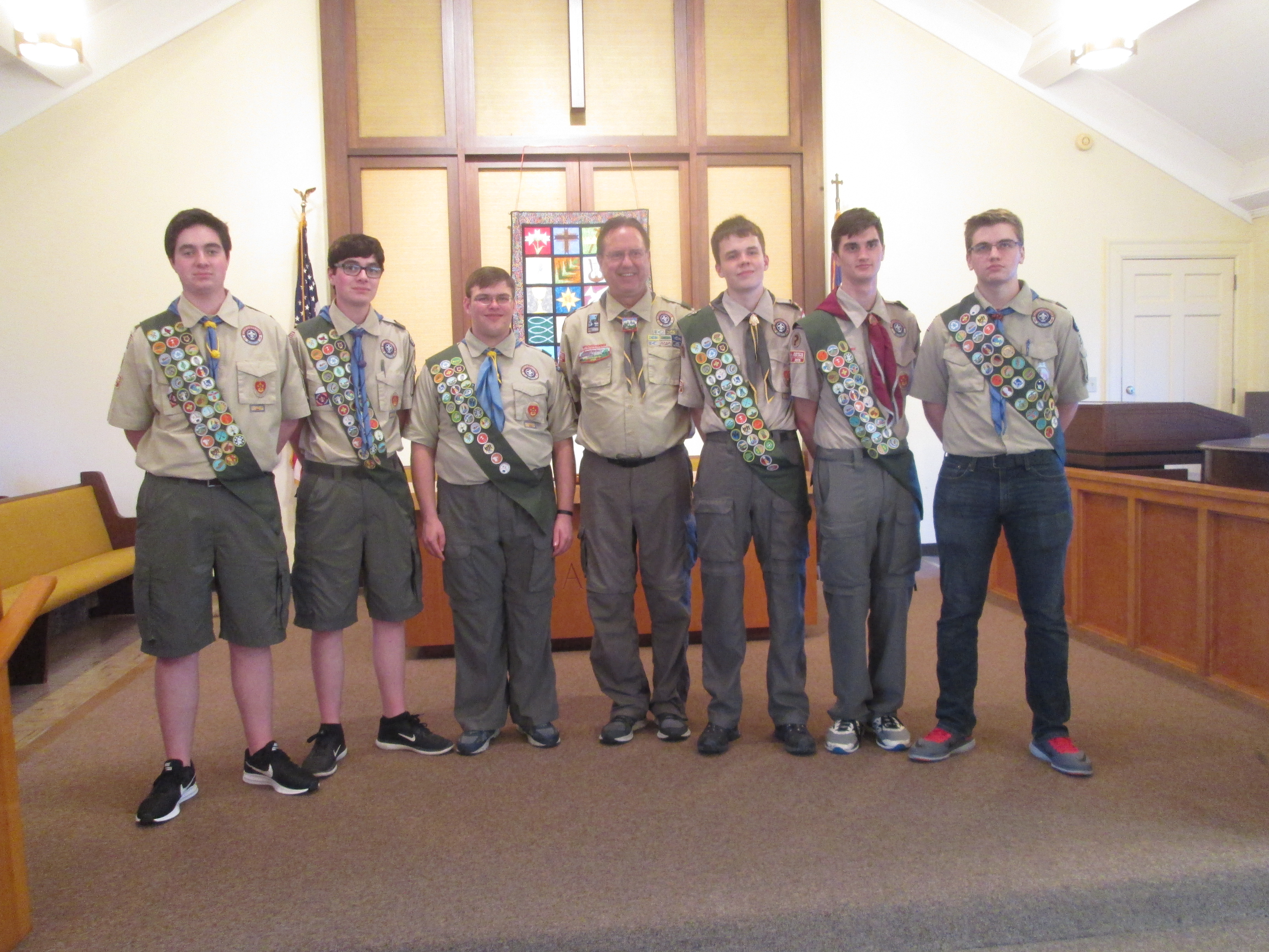 Teece is new Eagle Scout