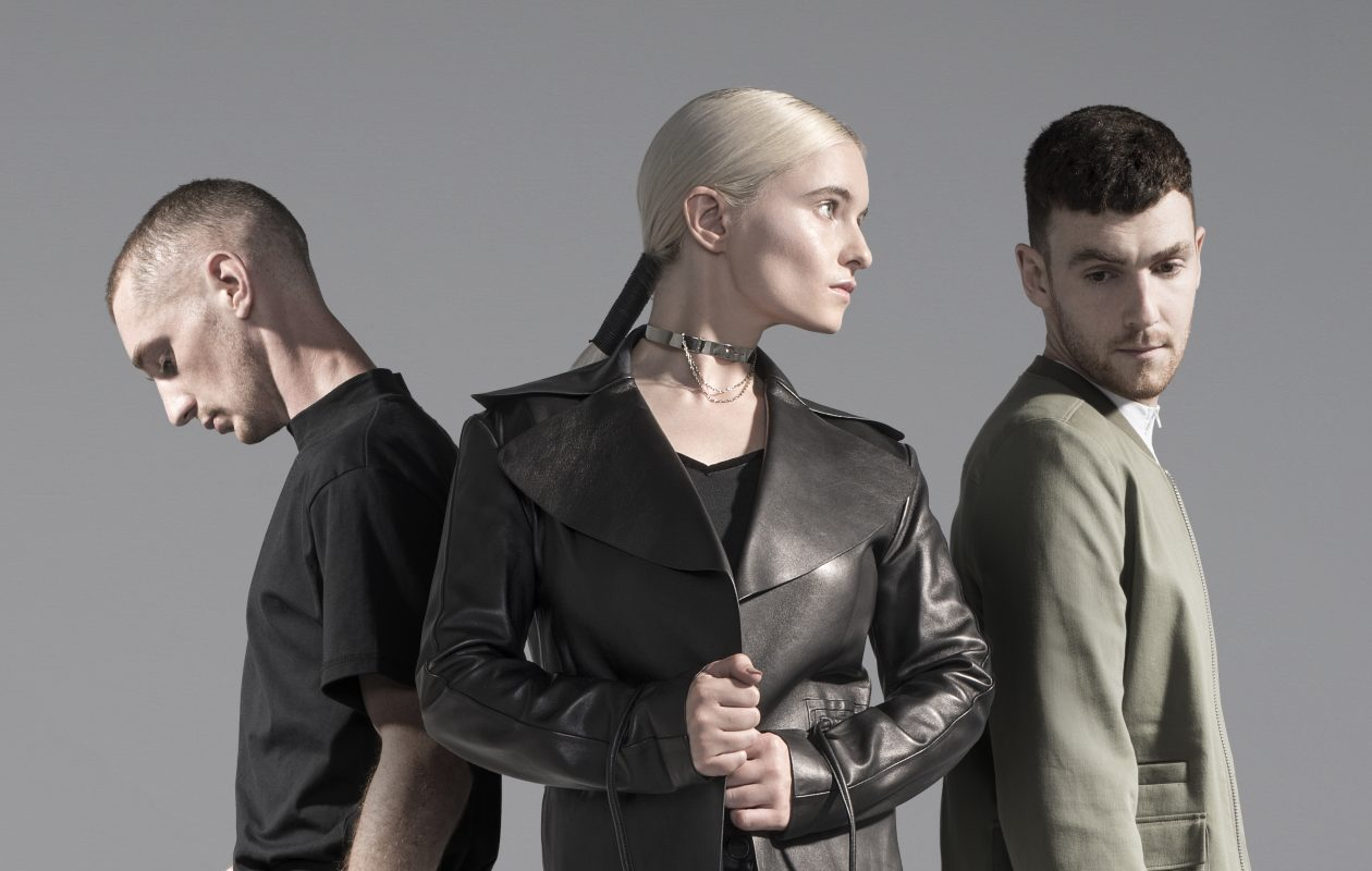 Clean Bandit includes Luke Patterson, Grace Chatto and Jack Patterson. (Photo by Rita Zimmermann)