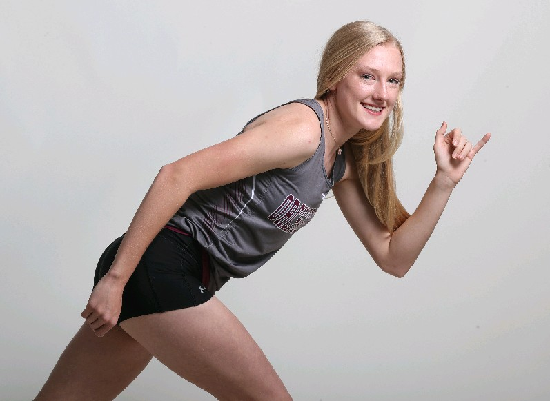 The Prep Talk Player of the Year for girls indoor track is Jenna Crean of Orchard Park. (James P. McCoy / Buffalo News)