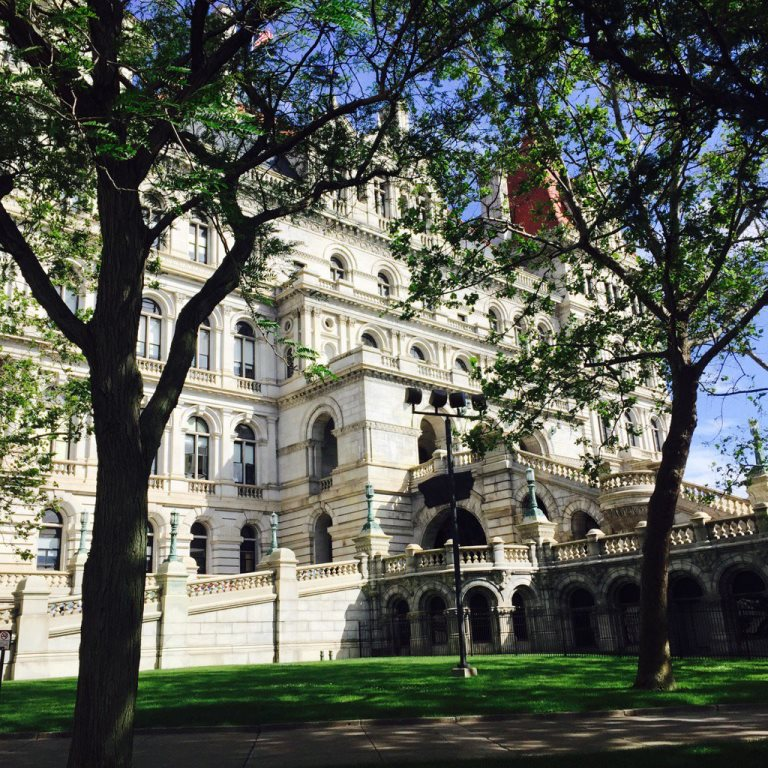 The venerable Capitol building in Albany, designed by H.H. Richardson. (Robert McCarthy/Buffalo News)
