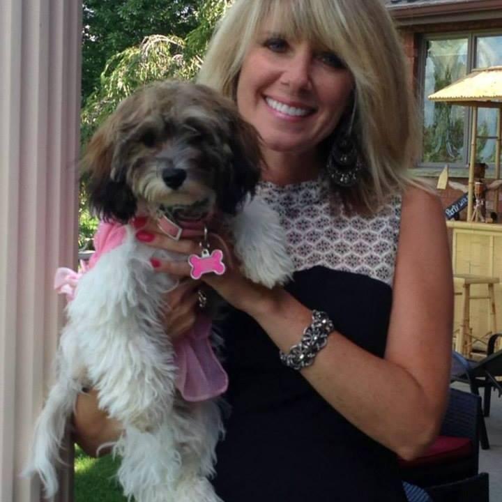 Dana Papaj of Grand Island, and her dog Molly. (Photo provided by Papaj's family)