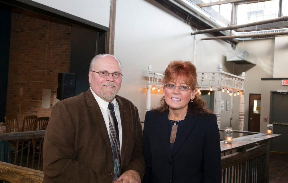 Kathleen Arntsen, right, president of the Lupus and Allied Diseases Association, considers her husband, David, the key figure in her support system to help her manage her lupus.