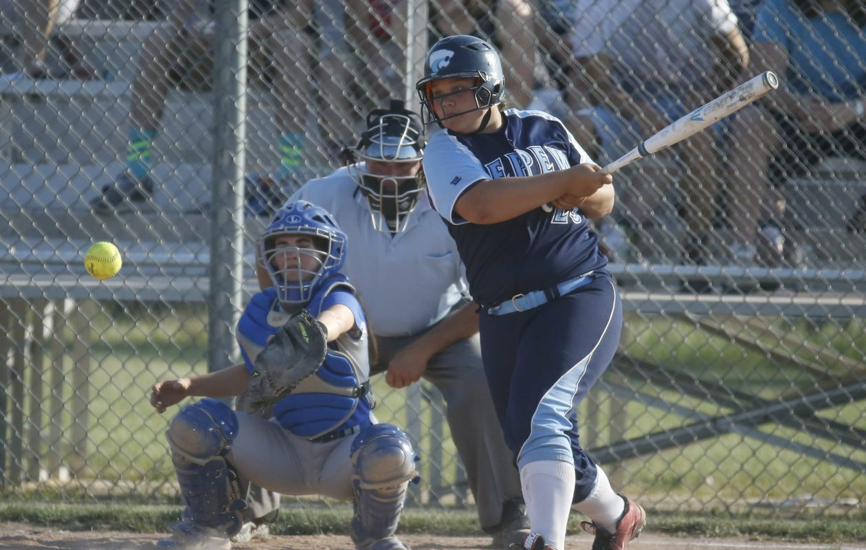 Annie DiPirro leads Depew in batting average and RBIs as the Wildcats return to the state semifinals. (Harry Scull Jr./Buffalo News)