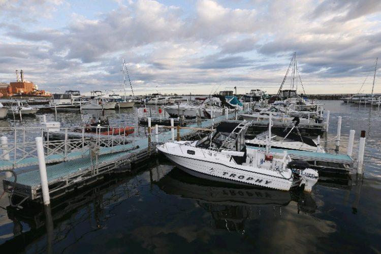Dunkirk Harbor. (Robert Kirkham/Buffalo News)
