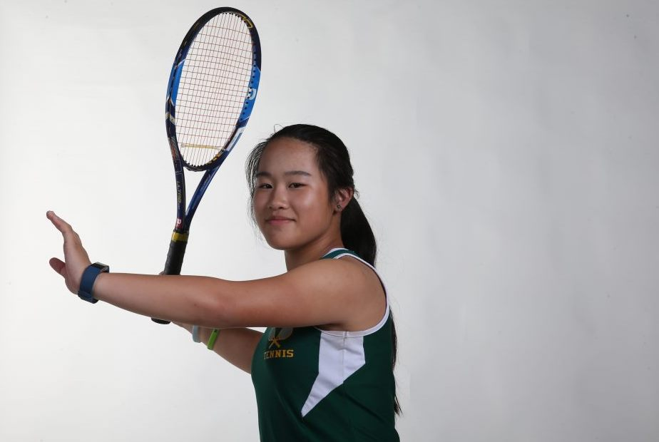 The Prep Talk Player of the Year for girls tennis is Eileen Wang of Williamsville North. (James P. McCoy/Buffalo News)