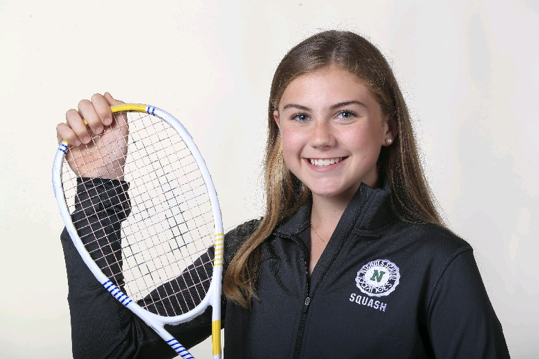 The Prep Talk Player of the Year in girls squash is Maureen Foley of Nichols. (Harry Scull Jr./Buffalo News)