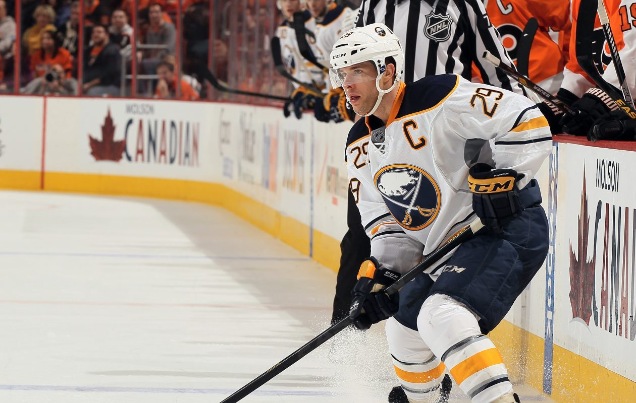 Jason Pominville had 20 or more goals six times for Buffalo. (Getty Images)