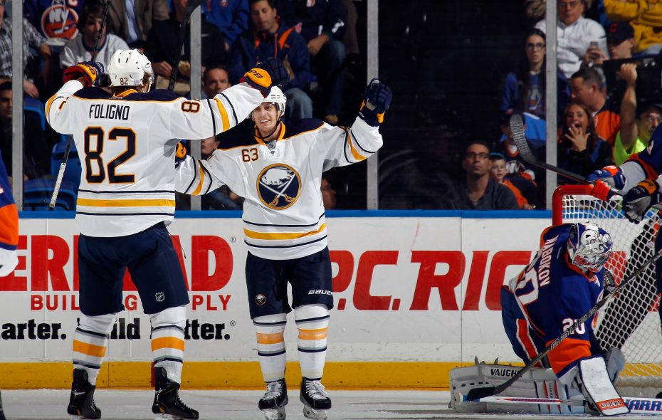 Marcus Foligno and Tyler Ennis hope to celebrate more in Minnesota. (Getty Images)