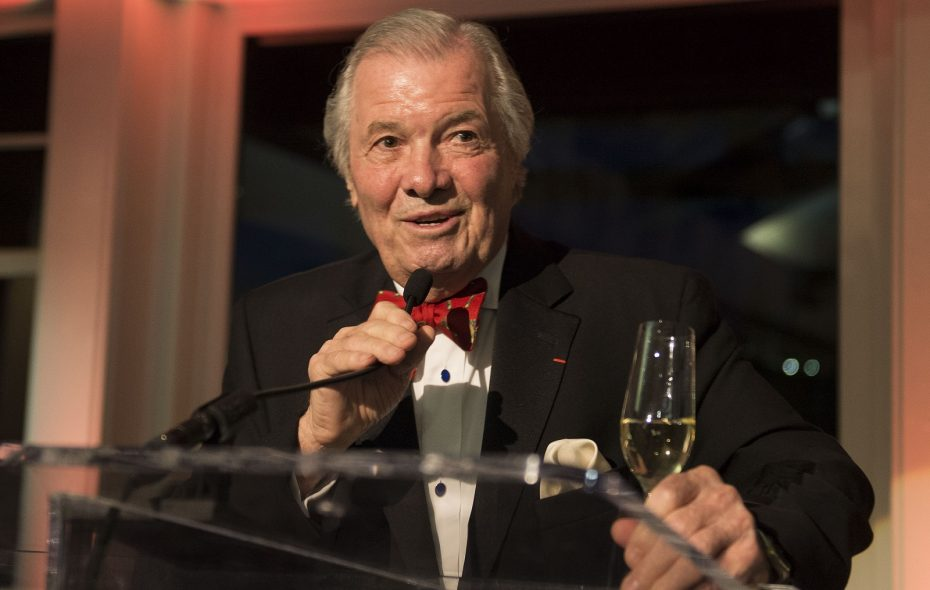Internationally recognized French chef Jacques Pepin will be the celebrity guest at Taste of Chautauqua in late August. (Photo by Leigh Vogel/Getty Images)