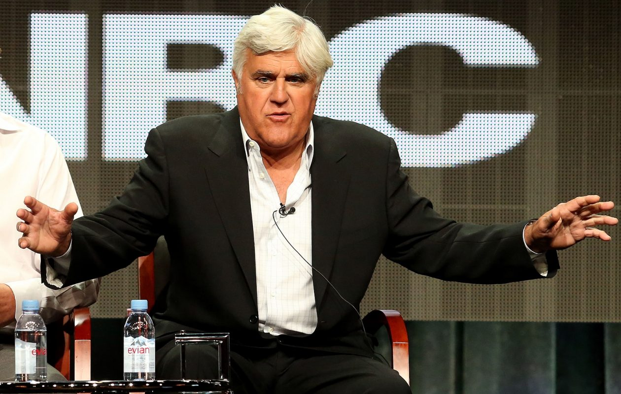 Jay Leno performs June 24 at the Chautauqua Institution — and he won't be doing an hour of Trump jokes. (Photo by Frederick M. Brown/Getty Images)