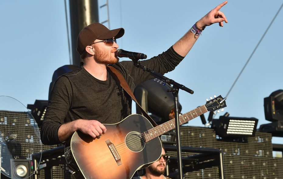 Country musicians are rarely booked for Canalside Thursdays, but Eric Paslay made the cut for 2017. (Getty Images)