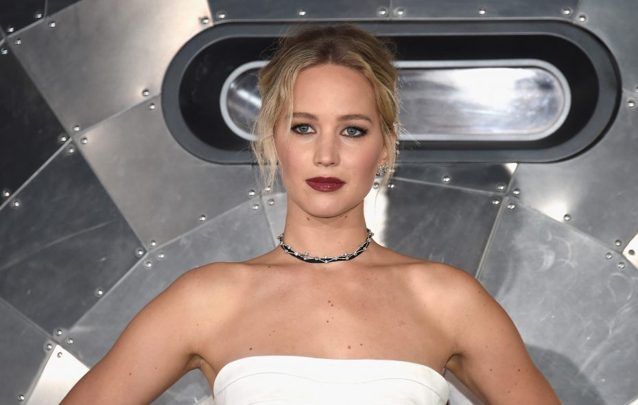 "Actress Jennifer Lawrence attends the premiere of Columbia Pictures' ""Passengers"" at Regency Village Theatre on Dec. 14, 2016, in Westwood, Calif.  (Getty Images)"