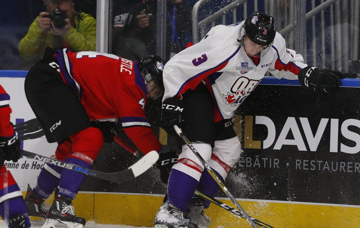 The stats of Juuso Valimaki (3) nearly doubled in his second North American season. (Getty Images)