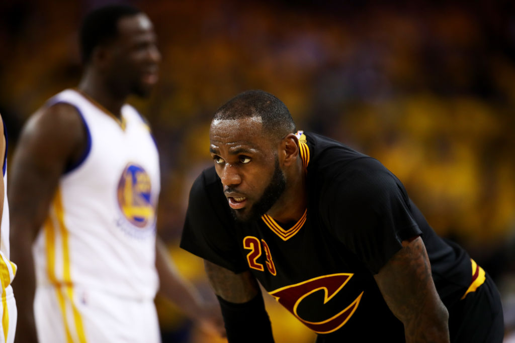 LeBron James on Game 2: 'We don't play slowdown basketball.' (Getty Images)