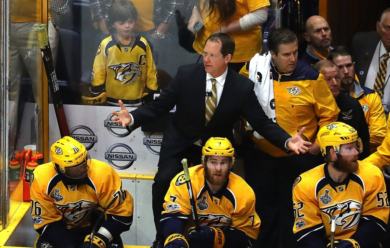 Phil Housley is eager for a top job after being Nashville's assistant coach for four seasons. (Getty Images)
