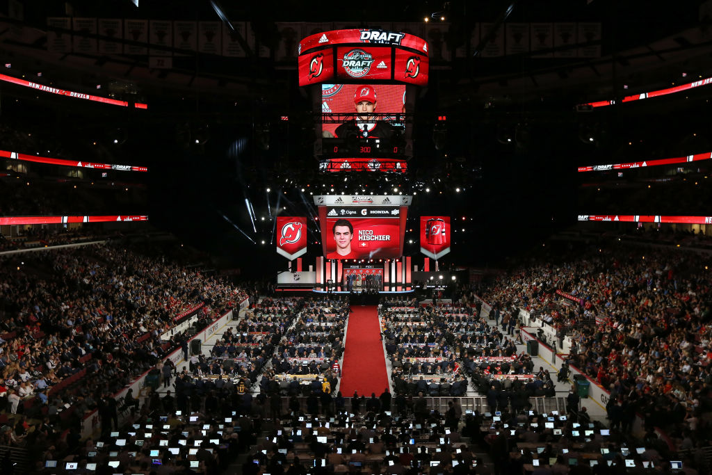 The 2017 NHL Draft at the United Center on June 23, 2017 in Chicago, Illinois. (Getty Images(