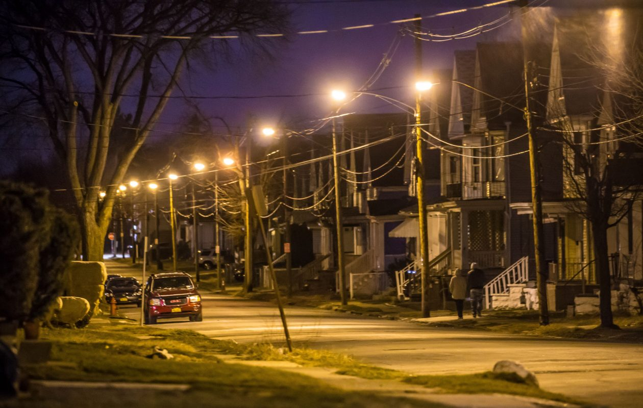 Goodyear Avenue is in an East Side neighborhood that has seen 80 shooting incidents from 2011 through 2016. (Derek Gee/Buffalo News)